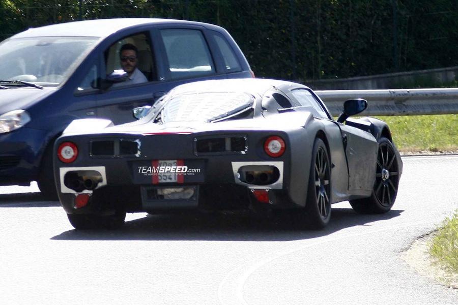 The New Ferrari Enzo Test Mule Tubi Style Exhaust North America